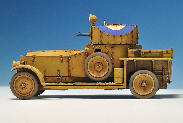 Rolls Royce Armoured Car_8