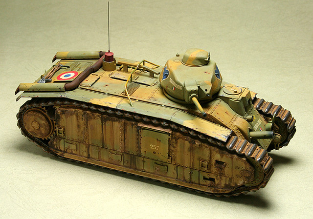 French CHAR B1 bis_mmodel_2