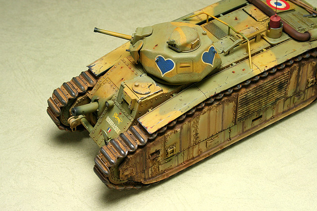 French CHAR B1 bis_mmodel_3