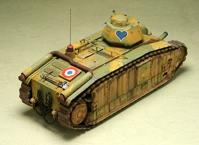 French CHAR B1 bis_mmodel_5