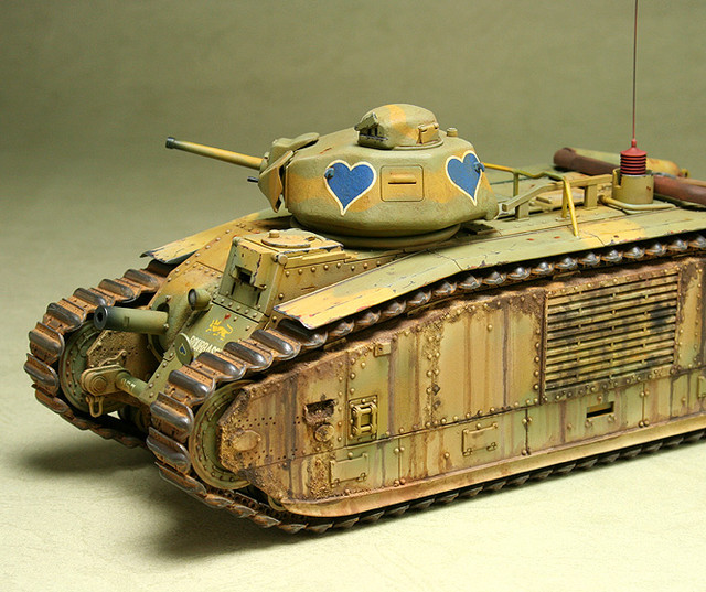 French CHAR B1 bis_mmodel_6