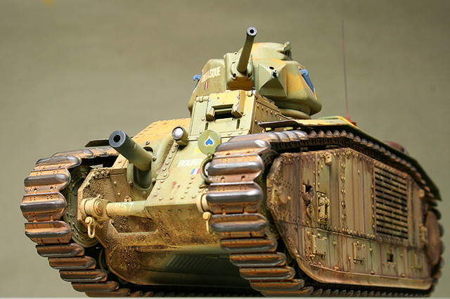 French CHAR B1 bis_mmodel_9