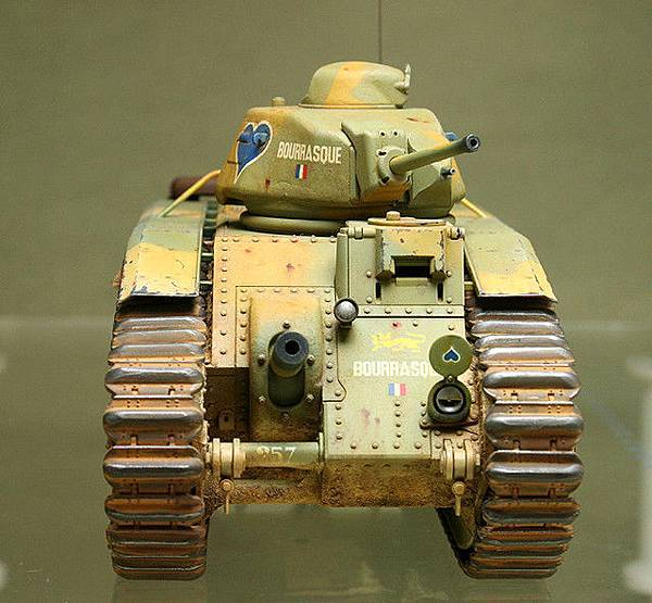 French CHAR B1 bis_mmodel_8