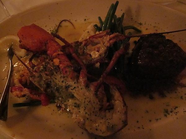 主餐來了~龍蝦+牛排