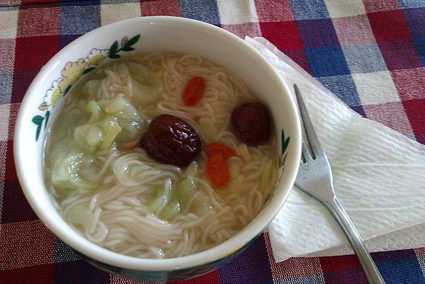 絲瓜麵線1