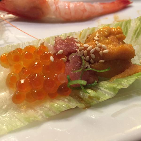 菊川日本料理-海鮮捲(自己取的XD)