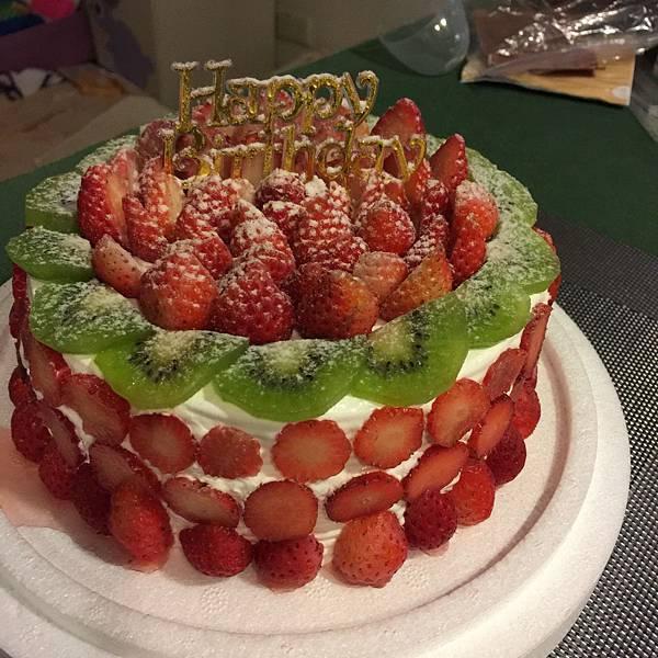 逸馨草莓總匯蛋糕20160214