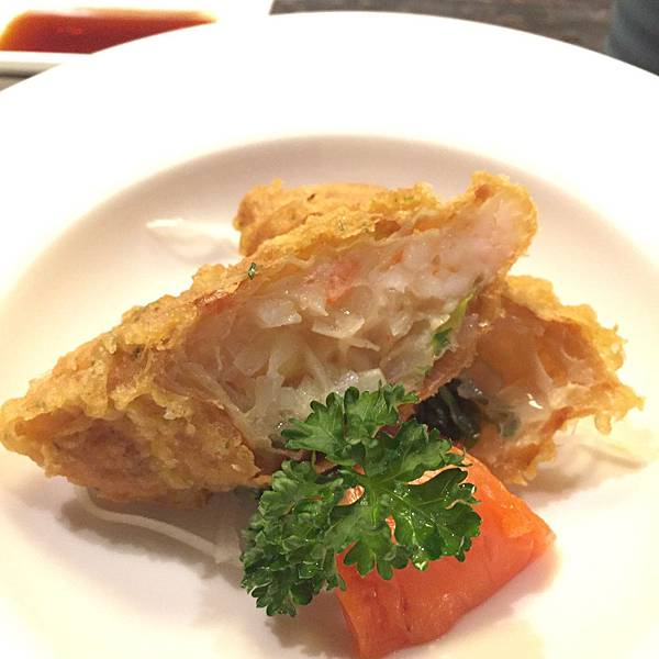 菊川日本料理-蝦卷(自己取的)
