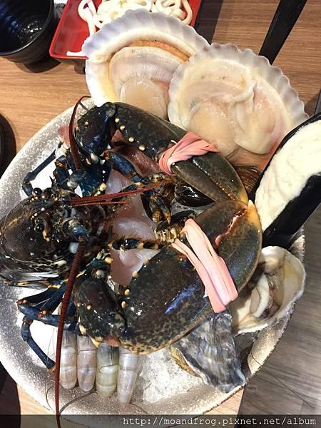 藍龍蝦雙人套餐