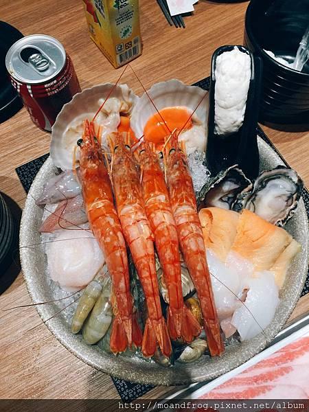二訪-天使紅蝦雙人套餐,  下載APP再送一隻