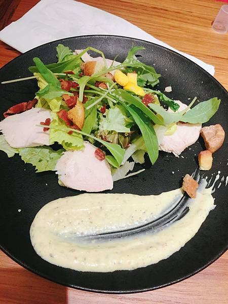 20161112 朵頤排餐_凱薩雞肉沙拉