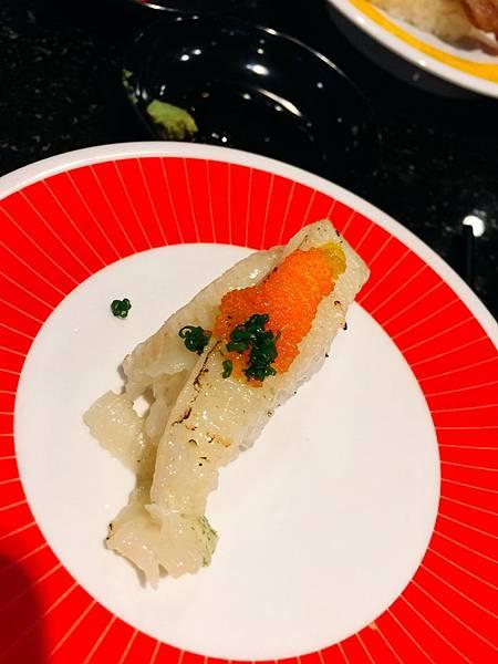 20161217海壽司_比目魚緣側 。什麼叫做入口即化,吃這位就能體會