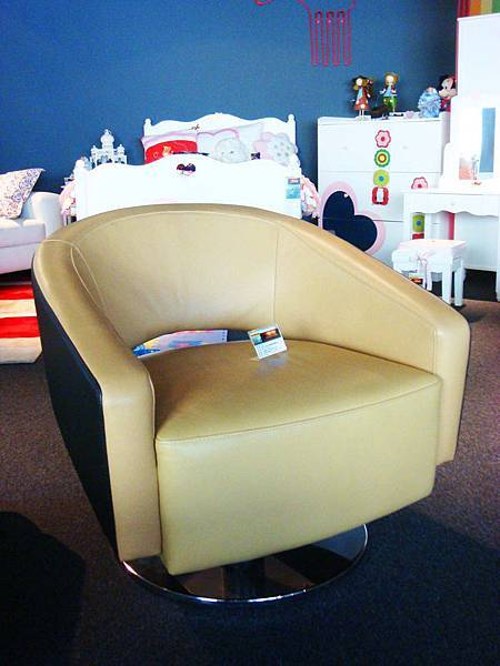 時尚大師咖啡轉盤金屬單椅-高質量五金轉盤+進口PU乳膠皮.jpg