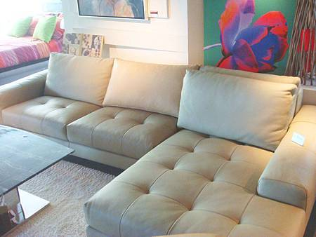 奇立大師-全牛皮L型沙發(右向米白)--牛皮+五金腳--坐墊-彈簧+繃帶+高密度泡棉+義大利OD全皮+1.6MM.jpg