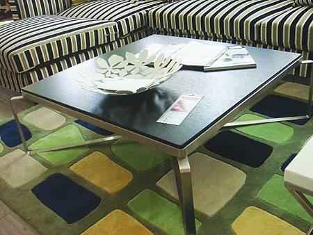 簡約不鏽鋼方形大茶几--高級MDF材料+不銹鋼鐵腳.jpg