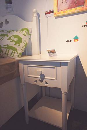 美式風格-收納櫃床頭櫃(白)--高級MDF+實木製成.jpg