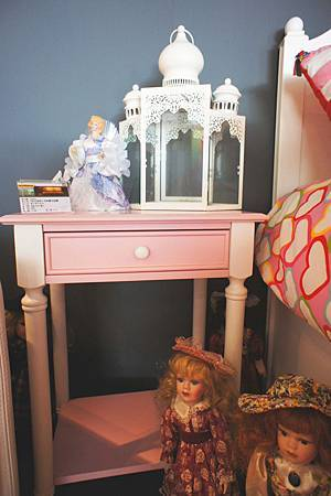 美式風格收納櫃床頭櫃(粉紅)-高級MDF+實木.jpg