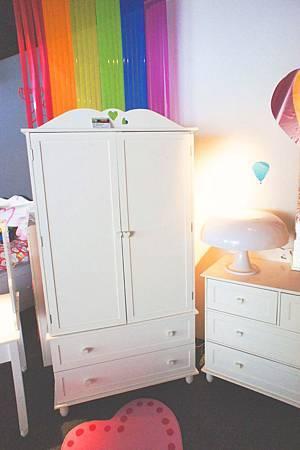 美式風格兒童吊衣櫃(白)-高級MDF+實木.jpg
