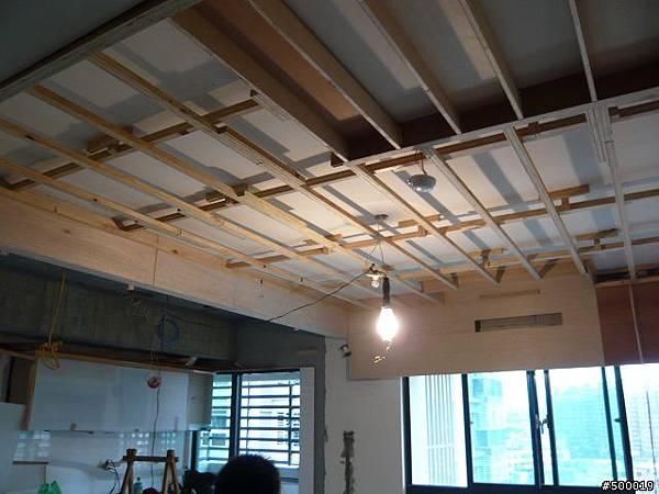 木作工程~包含冷氣封板, 天花板, 主臥書房隔間, 電視牆, 拉門~2.jpg