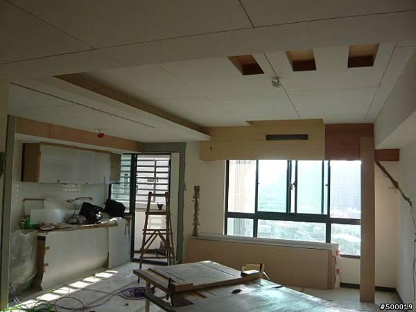 木作工程~包含冷氣封板, 天花板, 主臥書房隔間, 電視牆, 拉門~4.jpg