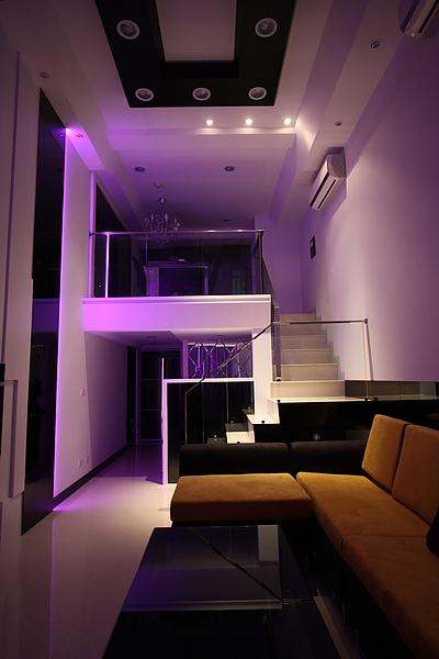 舊屋改裝/中古屋裝修改造-LED燈光變化