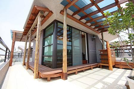 墨比雅室內設計_頂樓造景