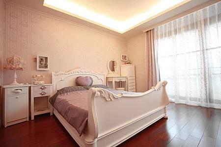 墨比雅室內設計_女孩房設計