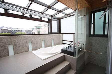 墨比雅室內設計_主臥室湯屋