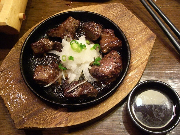 太好吃的鐵鈑牛肉了!