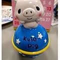 KUSO頑皮豬造型撲滿-1號(星球)