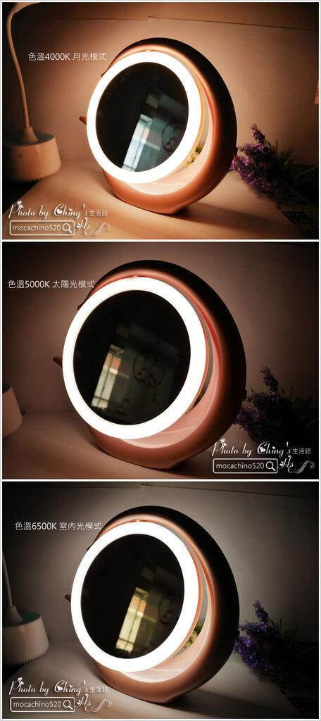 化妝台上的必備精品。YUWA。自然光化妝鏡燈。開箱新體驗 (8).jpg