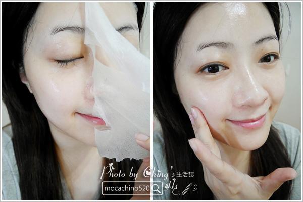 密集保養讓肌膚達到巔峰。GOLDEN FACE TAIWAN 金面子。瞬間煥膚水光面膜。蜂王漿乳霜發光面膜 (7).jpg