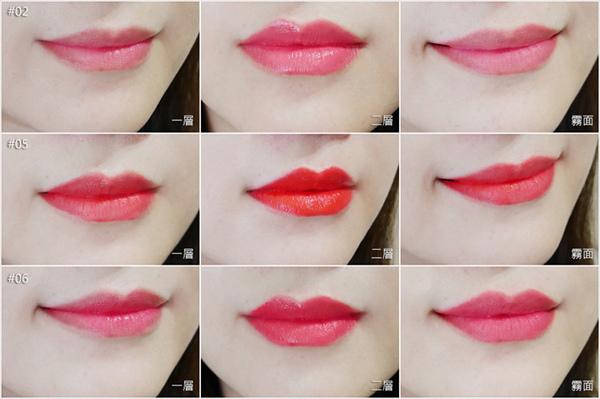唇膏控。試色報告。Mamonde夢妝。朴信惠韓劇Doctors女流氓慧靜 同款唇釉 (14)