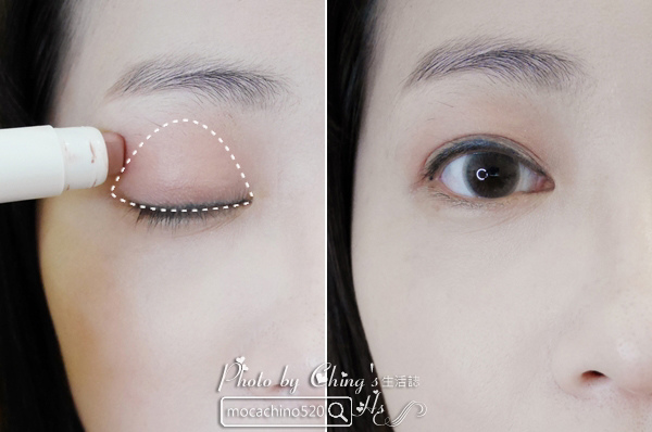 2017土色彩妝正流行。innisfree 3D光影修修眼彩筆。新品開箱 (5).jpg