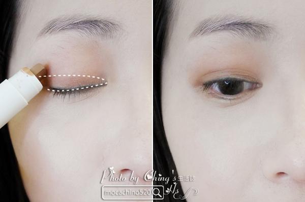 2017土色彩妝正流行。innisfree 3D光影修修眼彩筆。新品開箱 (6).jpg