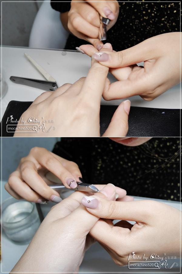 誰說短指甲不能做光療 超可愛熊本熊凝膠美甲在K Nail studio。噗咪美甲設計師 (7).jpg