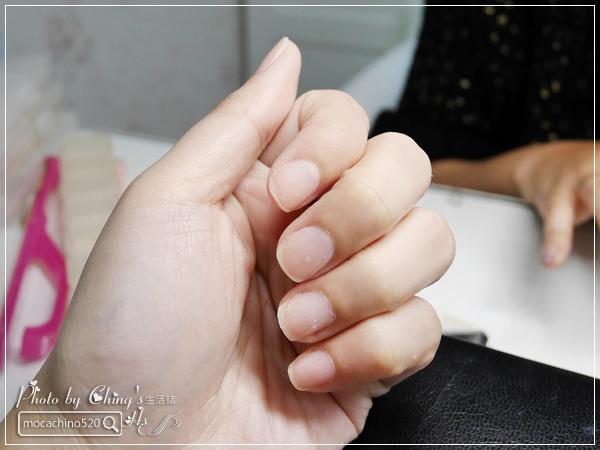 誰說短指甲不能做光療 超可愛熊本熊凝膠美甲在K Nail studio。噗咪美甲設計師 (8).jpg