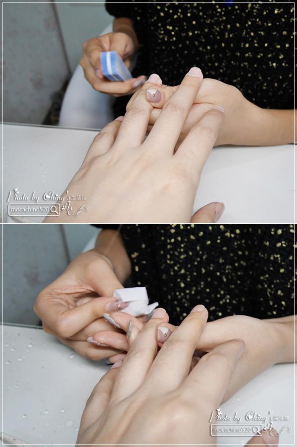 誰說短指甲不能做光療 超可愛熊本熊凝膠美甲在K Nail studio。噗咪美甲設計師 (9).jpg