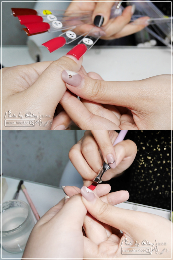 誰說短指甲不能做光療 超可愛熊本熊凝膠美甲在K Nail studio。噗咪美甲設計師 (12).jpg