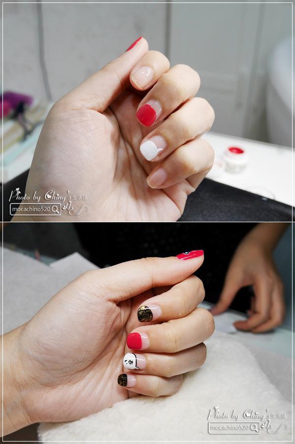 誰說短指甲不能做光療 超可愛熊本熊凝膠美甲在K Nail studio。噗咪美甲設計師 (15).jpg