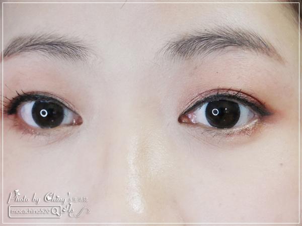 不接睫毛也能擁有迷人電眼。我的眼睛放大術。dejavu放肆驚艷超長進化版睫毛膏+就是不暈持久極細毛筆型眼線液 (16).jpg