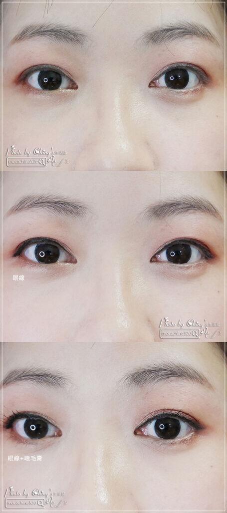 不接睫毛也能擁有迷人電眼。我的眼睛放大術。dejavu放肆驚艷超長進化版睫毛膏+就是不暈持久極細毛筆型眼線液 (18).jpg