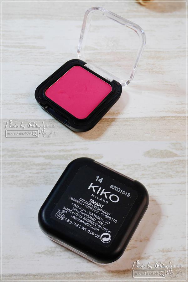 開箱。小資女必buy。來自義大利的平價彩妝。KIKO MILANO 眼唇彩妝分享 (15).jpg