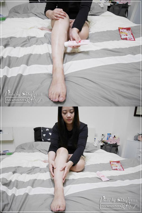 睡前的腿部保養,擺脫腫腫腿的祕方。阿嬤的配方 紅豆薏仁美腿精華按摩霜 (9).jpg