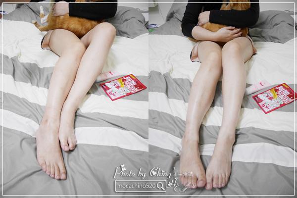 睡前的腿部保養,擺脫腫腫腿的祕方。阿嬤的配方 紅豆薏仁美腿精華按摩霜 (13).jpg