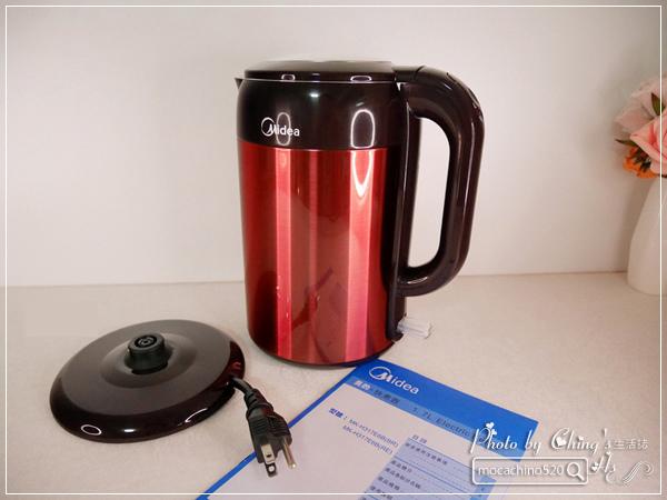 小家庭必備。Midea美的 1.7L 雙層防燙不繡鋼快煮壺 (7).jpg