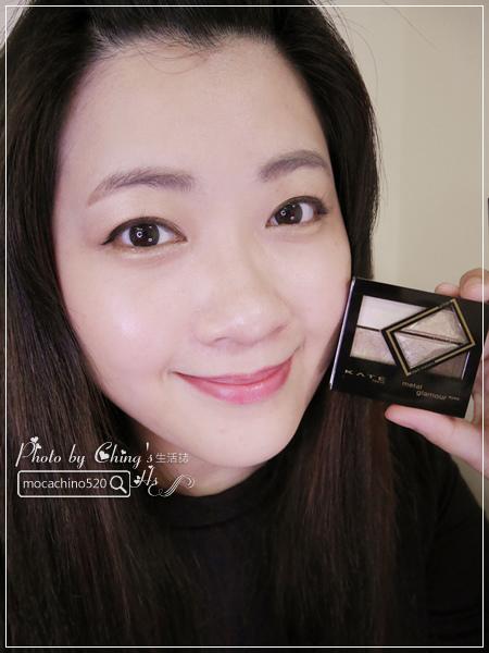 眼睛放大術。質感系眼妝分享。KATE凱婷 奢光燦魅眼影盒、進化版持久液體眼線筆EX (13).jpg