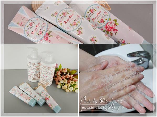 還我纖纖玉手,居家香氛手部保養。韓國 EVAS 玫瑰花園香水洗手乳、玫瑰香水護手霜 (1).jpg