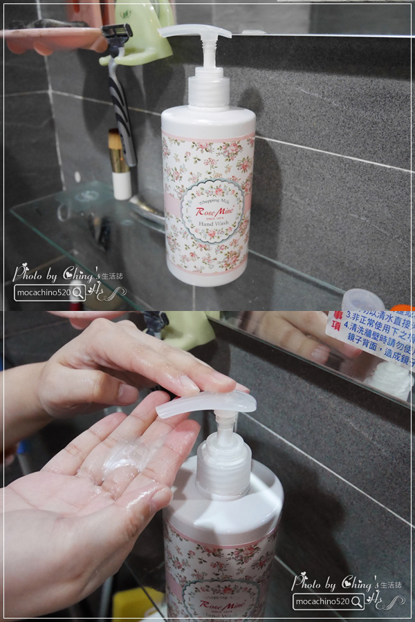 還我纖纖玉手,居家香氛手部保養。韓國 EVAS 玫瑰花園香水洗手乳、玫瑰香水護手霜 (8).jpg