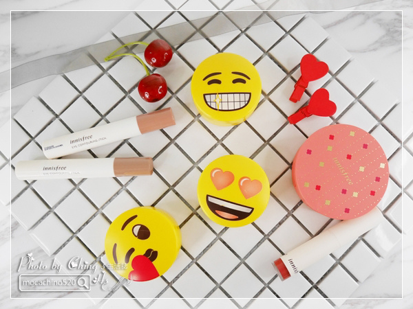 Innisfree x emoji。無油無慮礦物控油蜜粉Emoji限定版。九種使用蜜粉的時機 (1).jpg